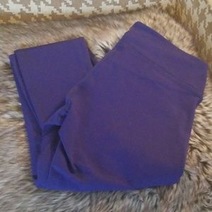 Fabletics High Waisted Leggings Purple Small